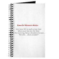 Powerful Women's Motto Journal