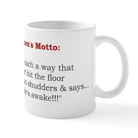 Powerful Women's Motto Mug