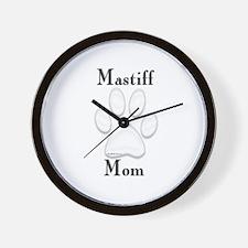 Mastiff Misc 4 Wall Clock