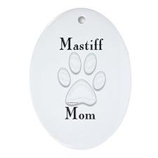 Mastiff Misc 4 Oval Ornament