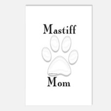 Mastiff Misc 4 Postcards (Package of 8)