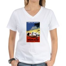Antique 1935 Monaco Grand Prix Race Poster T-Shirt