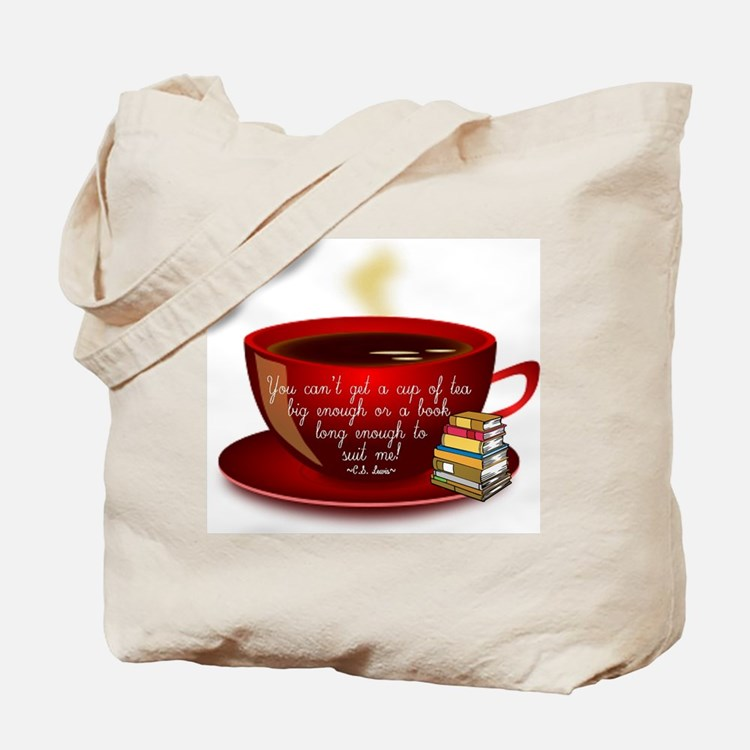 Tea Quote Tote Bag
