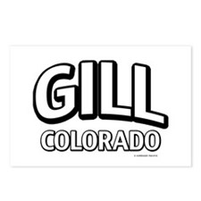 Gill Colorado Postcards (Package of 8)
