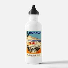 Antique 1936 Monaco Grand Prix Race Poster Water B