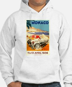 Antique 1936 Monaco Grand Prix Race Poster Hoodie