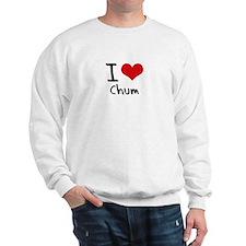 I love Chum Sweatshirt