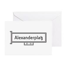 Alexanderplatz, Berlin - Greeting Cards (Pk of 10)