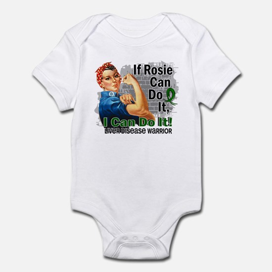 If Rosie Can Do It Liver Disease Infant Bodysuit