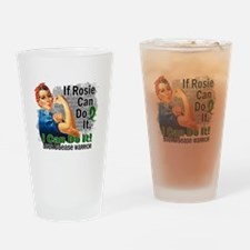 If Rosie Can Do It Liver Disease Drinking Glass