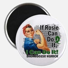 If Rosie Can Do It Liver Disease Magnet