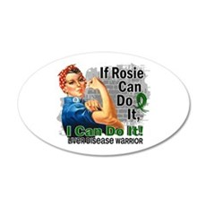 If Rosie Can Do It Liver Disease Wall Decal