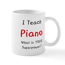teach piano Small Mug