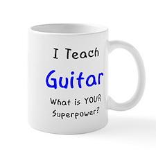teach guitar Mug