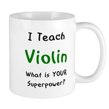teach violin Mug