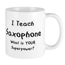 teach saxophone Mug