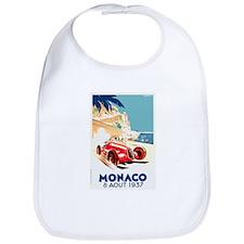 Antique 1937 Monaco Grand Prix Race Poster Bib