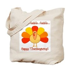 Happy Thanksgiving, Turkey Tote Bag