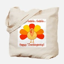 Happy Thanksgiving, Turkey Tote Bag