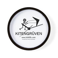 Kitengruven<br>Wall Clock