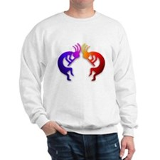 Kokopelli (Fire & Ice) Sweatshirt