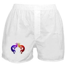 Kokopelli (Fire & Ice) Boxer Shorts