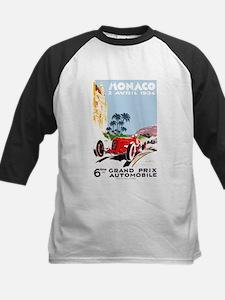 Antique 1934 Monaco Grand Prix Race Poster Basebal