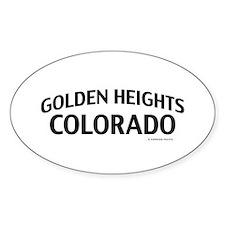 Golden Heights Colorado Decal