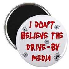 "Drive-by Media 2.25"" Magnet (100 pack)"