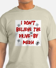 Drive-by Media Ash Grey T-Shirt