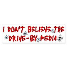 Drive-by Media Bumper Bumper Sticker