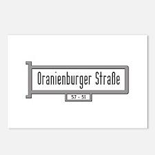 Oranienburger Strasse, Be Postcards (Package of 8)