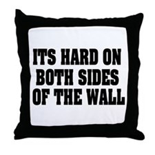 Both Sides Of Wall Throw Pillow
