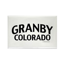 Granby Colorado Rectangle Magnet