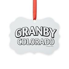 Granby Colorado Ornament