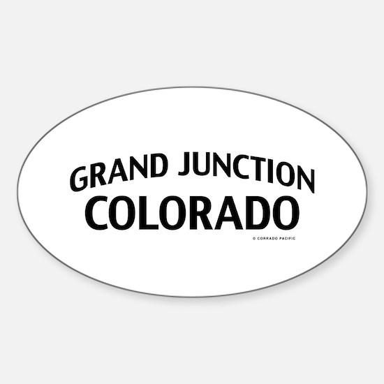 Grand Junction Colorado Decal