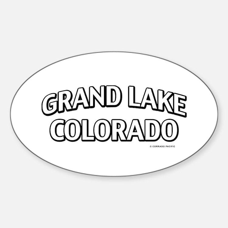 Grand Lake Colorado Decal