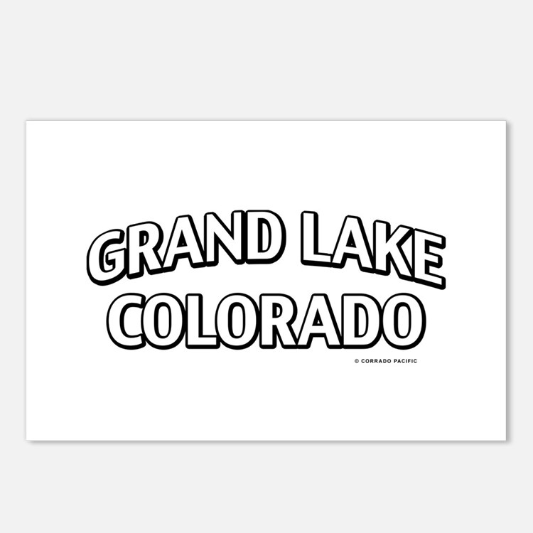 Grand Lake Colorado Postcards (Package of 8)