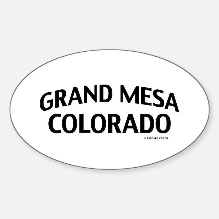 Grand Mesa Colorado Decal
