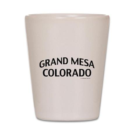 Grand Mesa Colorado Shot Glass