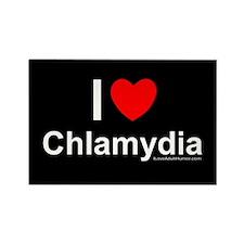 Chlamydia Rectangle Magnet