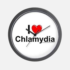 Chlamydia Wall Clock
