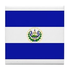 El Salvador Tile Coaster