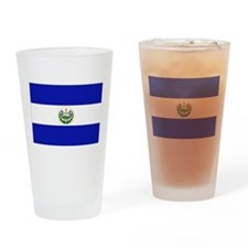 El Salvador Drinking Glass