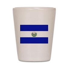 El Salvador Shot Glass
