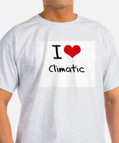I love Climatic T-Shirt