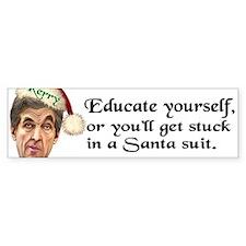 Santa Kerry Bumper Bumper Sticker