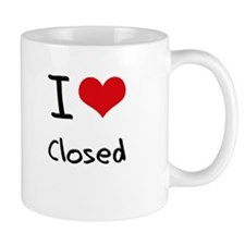 I love Closed Mug