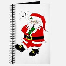 Santa Plays Clarinet Journal