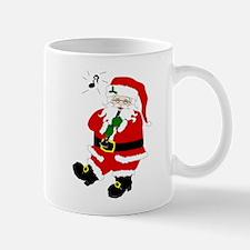 Santa Plays Clarinet Mug